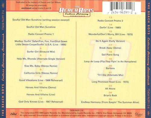 Endless Harmony [Soundtrack]