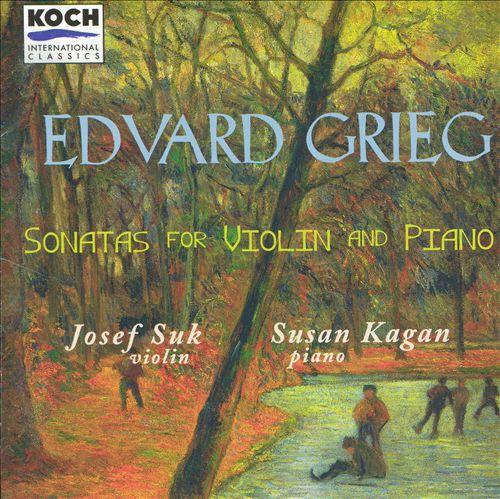 Edvard Grieg: Sonatas for Violin and Piano