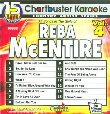 Chartbuster Karaoke: Reba McEntire, Vol. 3
