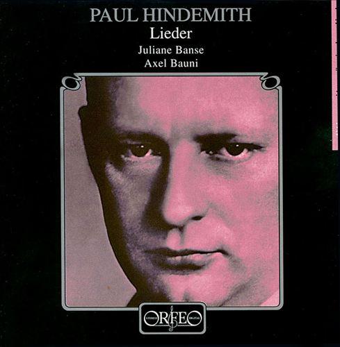 Hindemith: Lieder