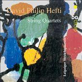 David Philip Hefti: String Quartets