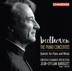Beethoven: The Piano Concertos; Quintet for Piano and Winds