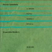Heiner Goebbels: La Jalousie; Red Run; Herakles 2; Befreiung