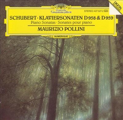 Schubert: Klaviersonaten, D958 & D959