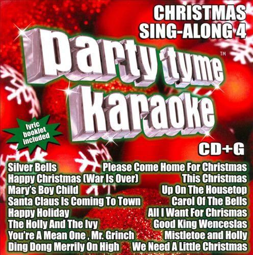 Party Tyme Karaoke: Christmas Sing-Along, Vol. 4
