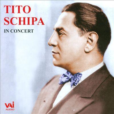 Tito Schipa in Concert