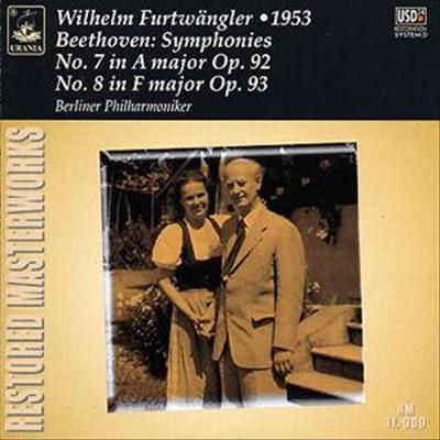 Beethoven: Symphonies Nos. 7 & No. 8