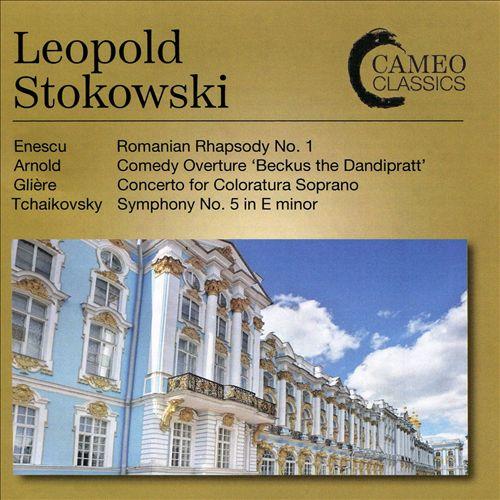 Enescu: Romanian Rhapsody No. 1; Arnold: Comedy Overture