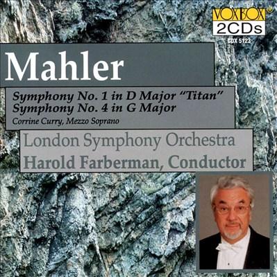 Mahler: Symphonies 1 & 4