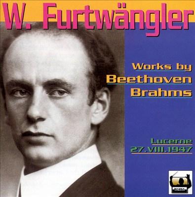 Wilhelm Furtwängler A Lucerne
