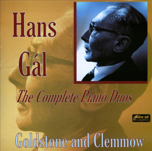Hans Gál: The Complete Piano Duos