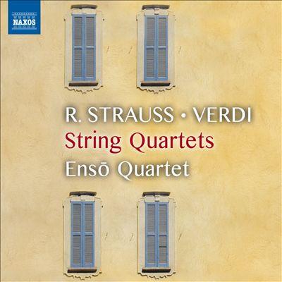 R. Strauss, Verdi: String Quartets