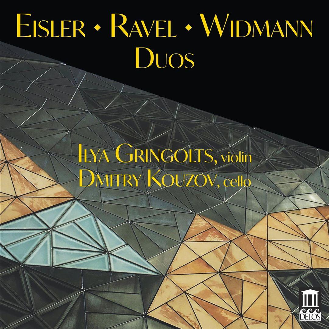 Eisler, Ravel, Widmann: Duos
