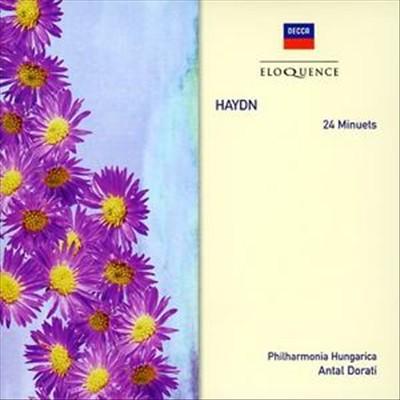 Haydn: 24 Minuets