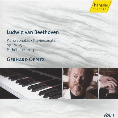 Beethoven: Piano Sonatas, Op. 10/1-3 & Op. 13 Pathétique