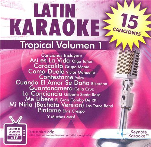 Keynote Karaoke: Latin Volumen 1 - Tropical