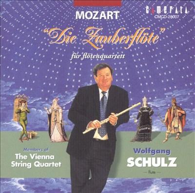 Mozart: Die Zauberflöte für flötenquartett