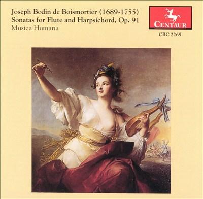 Boismortier: Sonatas for Flute & Harpsichord, Op. 91