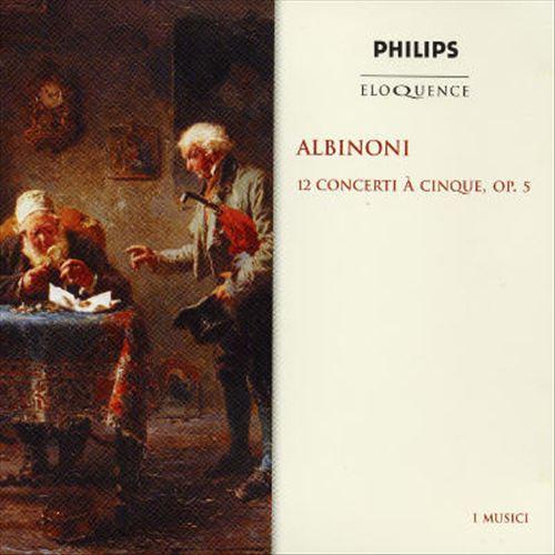 Albinoni: 12 Concerti à cinque, Op. 5 [Australia]