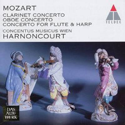 Mozart: Clarinet Concerto; Oboe Concerto; Concerto for Flute & Harp