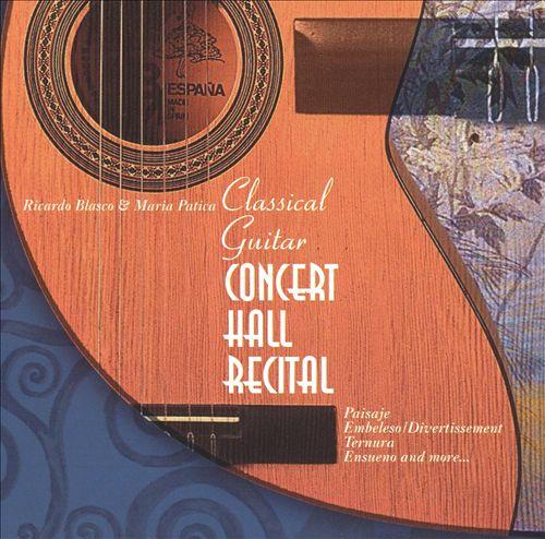 Classical Guitar: Concert Hall Recital