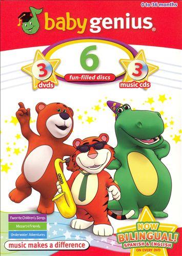 Baby Genius 3-Pack: Favorite Childrens's Songs/Mozart And Friends/Underwater Adventures