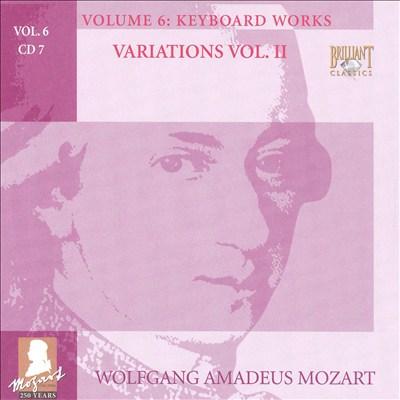 Mozart: Complete Works, Vol. 6 - Keyboard Works, Disc 7