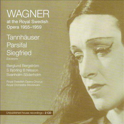Wagner at the Royal Swedish Opera, 1955-1959