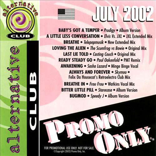 Promo Only: Alternative Club (July 2002)