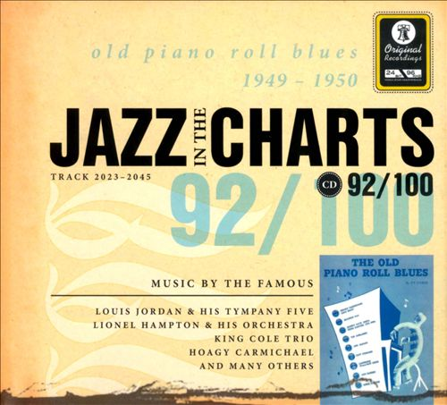 Jazz in the Charts, Vol. 92: Old Piano Roll Blues 1949-1950