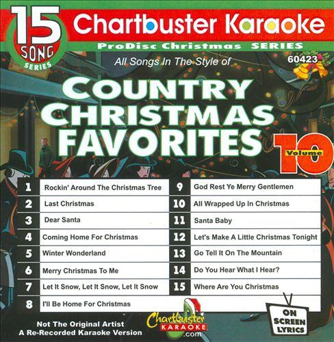 Karaoke: Country Christmas - December 2009