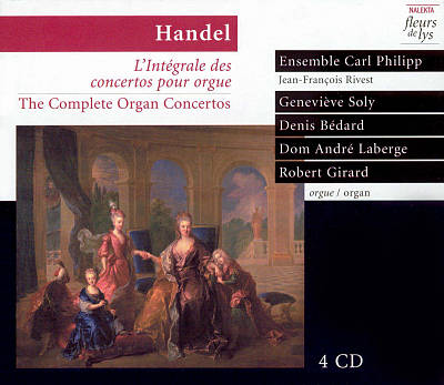 Handel: The Complete Organ Concertos (Box Set)