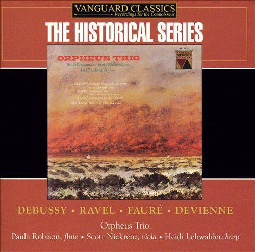 Orpheus Trio plays Debussy, Ravel, Fauré, Devienne