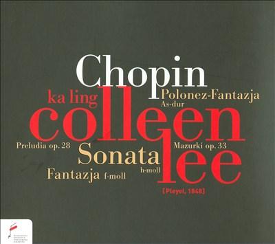 Chopin: Fantazja; Mazurki; Preludia