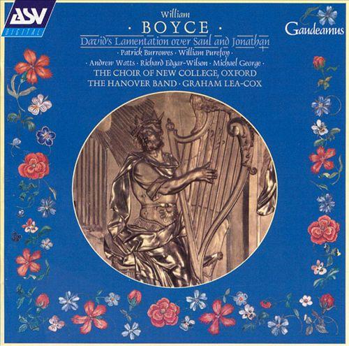Boyce: David's Lamentation