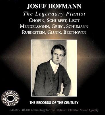 Josef Hofmann, Legendary Pianist
