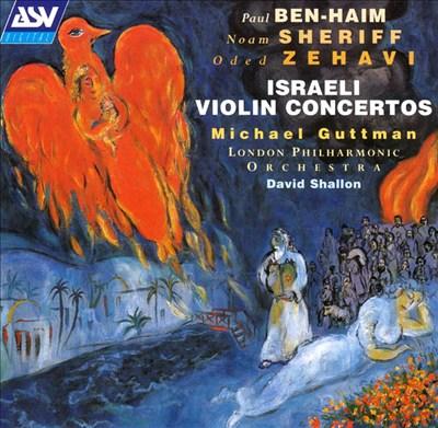 Israeli Violin Concertos