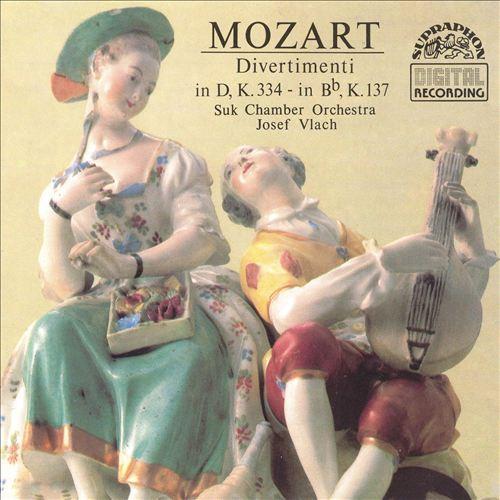 Mozart: Divertimentos No2; Divertimento No17