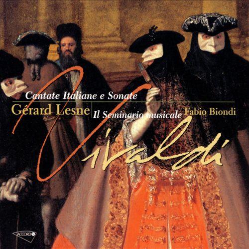 Vivaldi: Cantate Italiene e Sonate