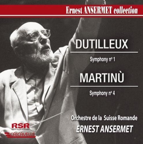 Dutilleux: Symphony No. 1; Martinù: Symphony No. 4