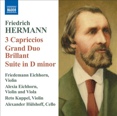 Friedrich Hermann: 3 Capriccios; Grand Duo Brillant; Suite in D minor