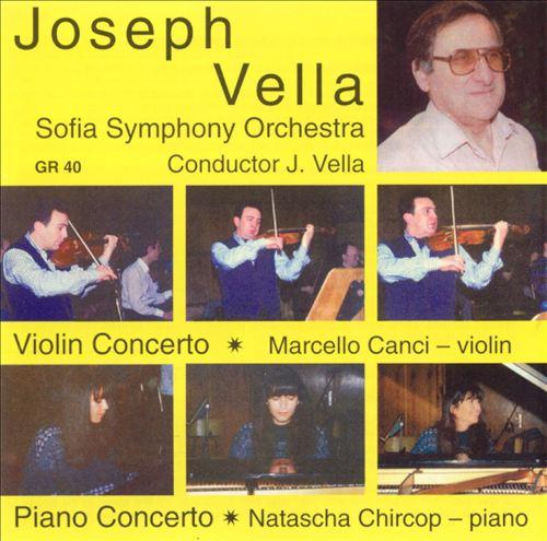 Joseph Vella: Violin & Piano Concertos