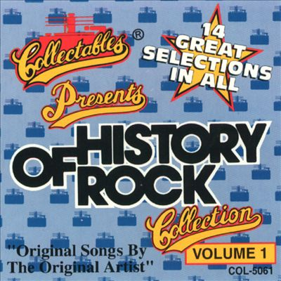 History of Rock, Vol. 1 [Collectables 1992]