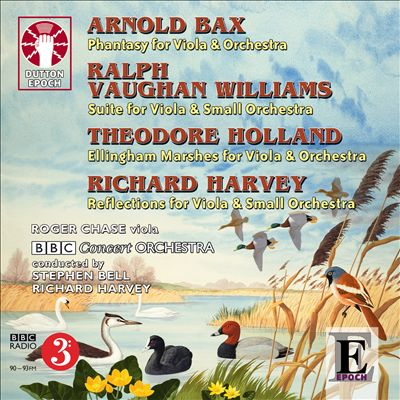 Arnold Bax, Ralph Vaughan Williams, Theodore Holland, Richard Harvey: Music for Viola and Orchestra