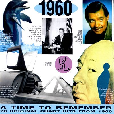 1960: A Time to Remember - 20 Original Chart Hits