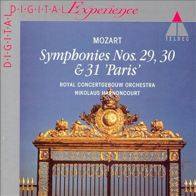 Mozart: Symphonies Nos. 29, 30 & 31