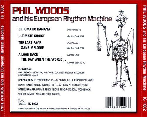 Phil Woods and His European Rhythm Machine