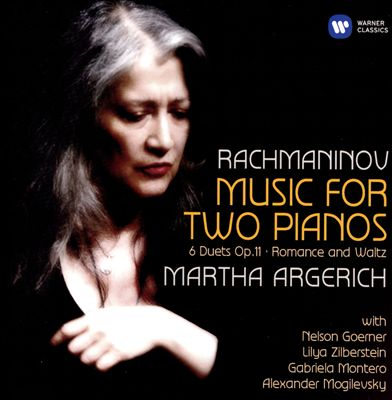 Rachmaninov: Music for Two Pianos; 6 Duets; Romance and Waltz