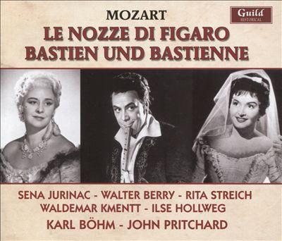 Mozart: Le Nozze di Figaro; Bastien und Bastienne