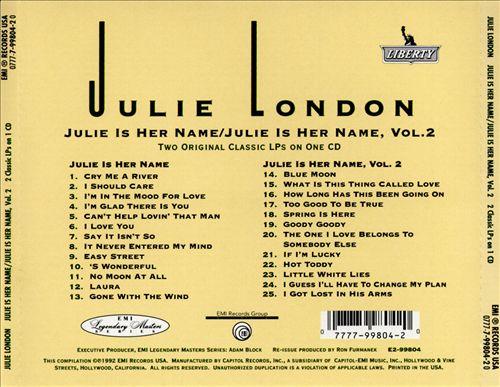 Julie Is Her Name, Vols. 1-2